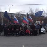 Российский триколор и Георгиевская лента на улицах города: в Екатеринбурге прошел автопробег «За суверенитет! За Путина!»