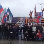 Митинг Национально-освободительного движения: «Наша задача – оказание поддержки здоровым, патриотическим силам в различных ветвях власти»