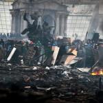 Несмотря на перемирие, столкновения в Киеве продолжаются