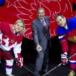 Презентация новой олимпийской формы сборной России по хоккею