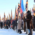 Волна пикетов в защиту суверенитета Украины докатилась и до Генконсульства США в Екатеринбурге
