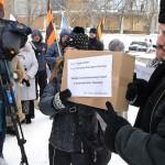 Сухари для Виктории Нуланд приняли в Генконсульстве США в Екатеринбурге