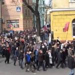 Одесса просыпается: народное ополчение на марше