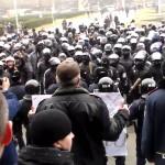 Вправление мозгов активистам евромайдана в Одессе