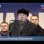 Выступление Владимира Жириновского 23 февраля 2014