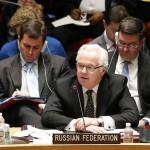 Виталий Чуркин: Запад должен прекратить оскорбительную риторику в адрес России