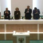 Сенаторы единогласно ратифицировали договор о принятии Крыма и Севастополя в состав России