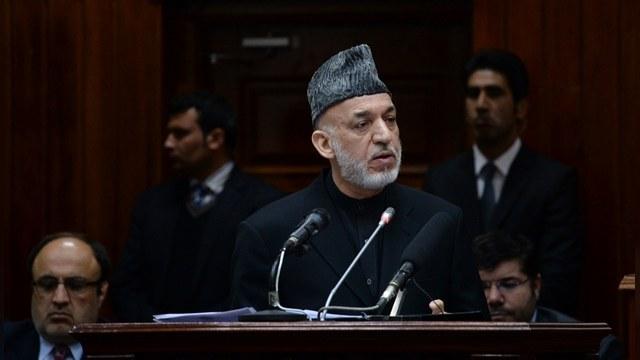 AFGHANISTAN-POLITICS-PARLIAMENT-KARZAI