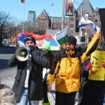 В Канаде прошел антифашистский митинг против нового бандитского правительства на Украине
