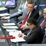 Публичный позор Ангелы Меркель в Бундестаге