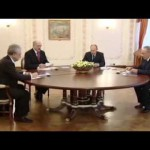 Путин, Лукашенко и Назарбаев провели очередное заседание Высшего Евразийского экономического совета