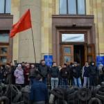 МВД: Задержанные протестующие в Харькове являются жителями города и области