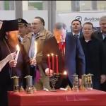 В Россию прибыл Благодатный огонь