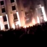 После провозглашения народной республики в Харькове начались столкновения с милицией
