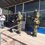 Сторонники федерализации заняли городской отдел милиции в городе Константиновка