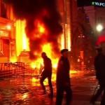 На юго-востоке Украины всю ночь продолжались столкновения, в Харькове началась «антитеррористическая операция»