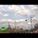 Украинский МиГ попытался испугать жителей Краматорска