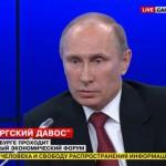 Путин: Европа и США поддержали государственный переворот на Украине
