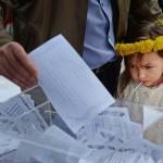 Cвыше 95% избирателей проголосовали за независимость Донецкой области