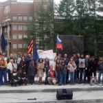 «Юго-восток, мы с тобой!» – митинг в поддержку Юго-востока Украины прошел в Екатеринбурге