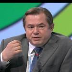 Серьей Глазьев. Петербургский международный экономический форум 2014
