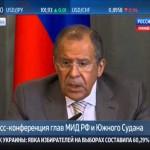Сергей Лавров: первая реакция на украинские выборы