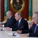 Владимир Путин прибыл в Астану на подписание Договора о Евразийском союзе