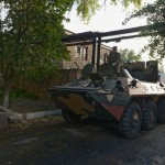 Луганские ополченцы заняли погранчасть, бой за которую шёл два дня
