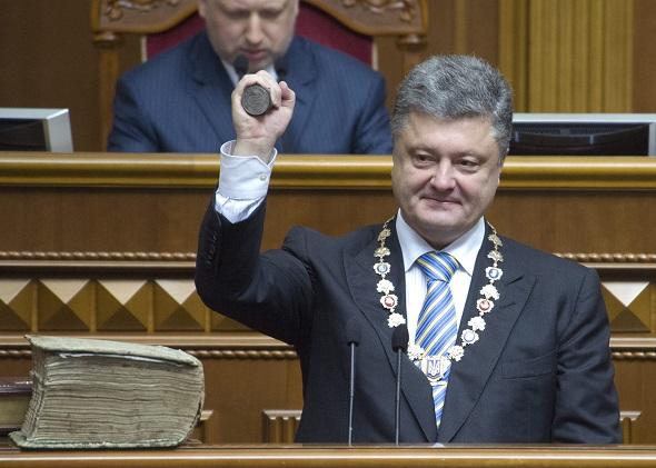 Церемония вступления в должность нового президента Украины Петра Порошенко