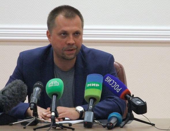 Пресс-конференция премьер-министра самопровозглашенной Донецкой Народной Республики А.Бородая