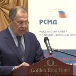 Лавров: Украинский кризис — кульминация курса Запада, многие годы осуществлявшегося в отношении России