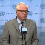 Виталий Чуркин: Совбез ООН потребовал расследования гибели журналистов на востоке Украины