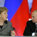 Путин и Меркель: ситуация на Украине деградирует