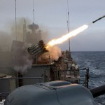 Черноморский флот отработал нанесение ракетного удара по кораблям условного противника