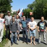 «Что за праздник?» — в Екатеринбурге в субботу проходил автопробег НОД
