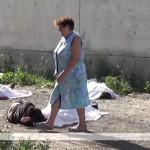 Луганск. Дом природы 26 июля 2014 г. Хунта уничтожает жителей Луганска