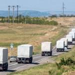 МИД РФ: Россия приняла решение начать движение колонны с гуманитарным грузом в направлении Луганска