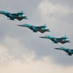 Эскадрилья Су-34 впервые пролетела по маршруту Северного морского пути