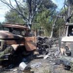 Ополченцы уничтожили колонну снабжения украинской армии в Харьковской области