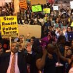 Жители Вашингтона вышли протестовать против ситуации в Фергюсоне