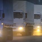 На восток Украины направлены 280 грузовых автомобилей МЧС с российским гуманитарным грузом