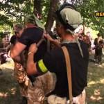 Каратели батальона нацгвардии «Донбасс» на подступах к Донецку