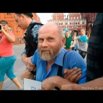 Народ выгнал западных шестёрок с манежки. Готовишь Майдан — поедешь в Магадан!