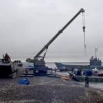 В пункты базирования Тихоокеанского флота в Арктике доставлено около 3 тыс. т различных грузов