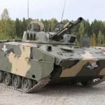 Рогозин протестировал боевую машину десанта БМД-4М