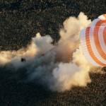 «Союз» с интернациональным экипажем штатно приземлился в Казахстане