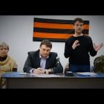 Учредительная конференция НОД в Санкт-Петербурге 13 сентября 2014 года