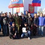 Екатеринбург поддержал международную акцию «Антимайдан»
