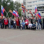 «Мир принесет не капитуляция, мир принесет ПОБЕДА!» – 21 сентября в Екатеринбурге прошел митинг-концерт НОД