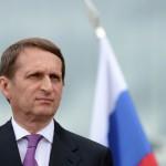 Нарышкин: политика РФ и КНР сдерживает деструктивное влияние Запада